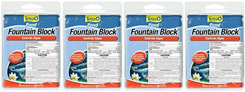 Tetra Pond Anti-Algae Control Blocks for Fountains, 6-Count (4-Pack) ()