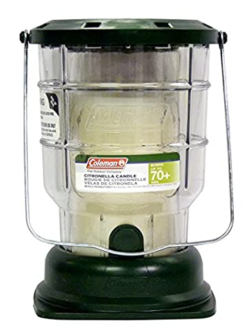 Coleman Citronella Candle Outdoor Lantern - 70+ Hours, 6.7 Ounce (Mosquito Repellent Camping)