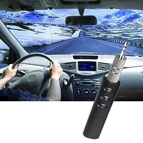 Mini kit de Voiture sans Fil Jack Musique Mains Libres 3,5 mm Jack Audio Jack Adaptateur de r/écepteur Aux pour Haut-Parleur Al/éatoire