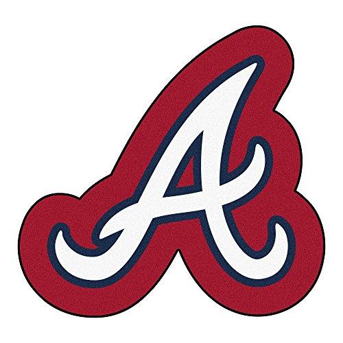 Braves Rug - FANMATS MLB Mascot Area Rug, Atlanta Braves, Approx. 30'x40