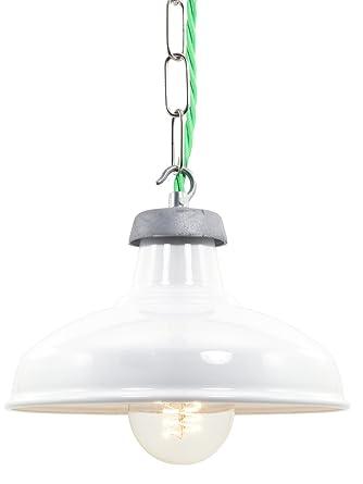 Weiß Emaille Küche Lampe | 190 Mm: Amazon.de: Beleuchtung