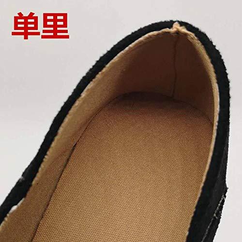 Las Yukun Apricot Moda Zapatos De Mujeres Tamaño Los Otoño Solos Del Grueso Tacón Talón Gran Con Alto UXTrXxwqa