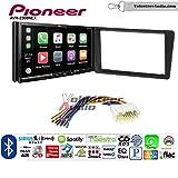 Volunteer Audio Pioneer AVH-2300NEX Double Din Radio Install Kit with Apple CarPlay Android Auto Bluetooth Fits 2001-2005 Honda Civic