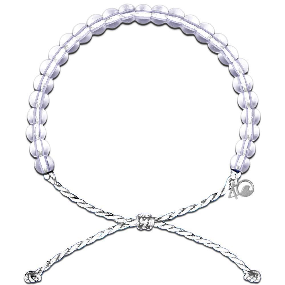 4Ocean Polar Bear White Bracelet Accessory/White by 4Ocean