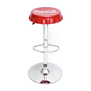 Charmant Coca Cola 24u0026quot; Adjustable Swivel Bar Stool