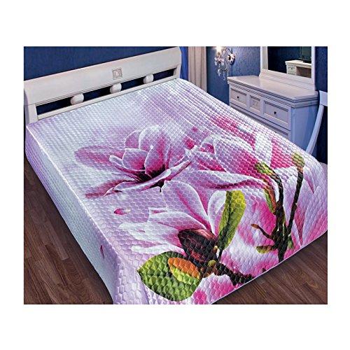 "Tagesdecke /""Risa/"" 230x250 oder 200x220 cm Bettüberwurf Bettdecke Steppdecke"