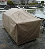 Premium Tight Weave BBQ Island Grill Covers up to 112″ For Sale