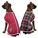 Zack & Zoey Polyester Nor'easter Dog Blanket Coat, X-Large, Red Review