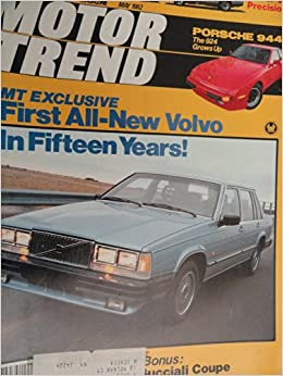 1982 Ford Mustang / Chevy Chevrolet Camaro / Porsche 944 / Fiat Spider 2000 Turbo Road Test: Motor Trend Magazine: Amazon.com: Books