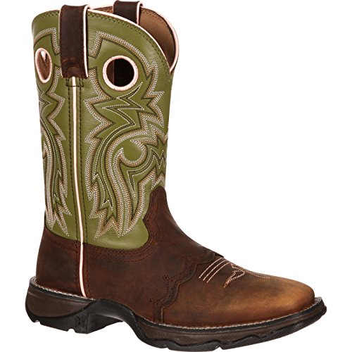 Women's Durango Square Toe Western Boots BROWN 8.5 M