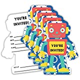 Amazon vintage walt disney duck tales birthday party robot birthday party invitations envelopes value pack 20 count filmwisefo Gallery
