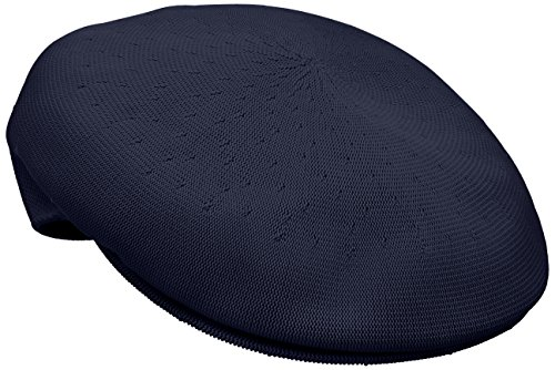 Kangol Men's Heritage Collection Tropic Yarn 504 Classic Hat, Navy (Small)