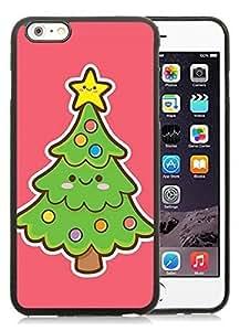 Fantastic iPhone 6 Plus Case,Christmas tree Black iPhone 6 Plus 5.5 TPU Case 4