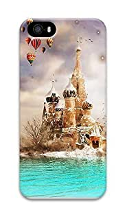 Case For Iphone 4/4S Cover Hot Air Balloons And Castles 3D Custom Case For Iphone 4/4S Cover