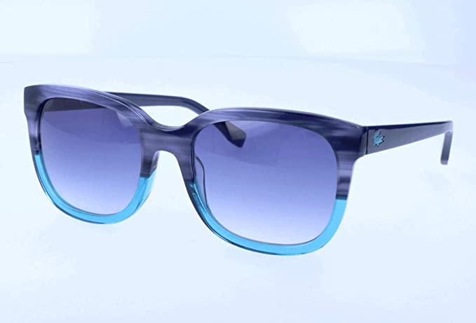 Lacoste Sonnenbrille L815S Gafas de Sol, Azul (Blau), 55.0 ...