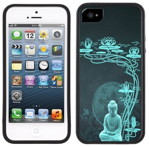 Blue Buddha Buddhist Handmade iPhone 5C Black Case