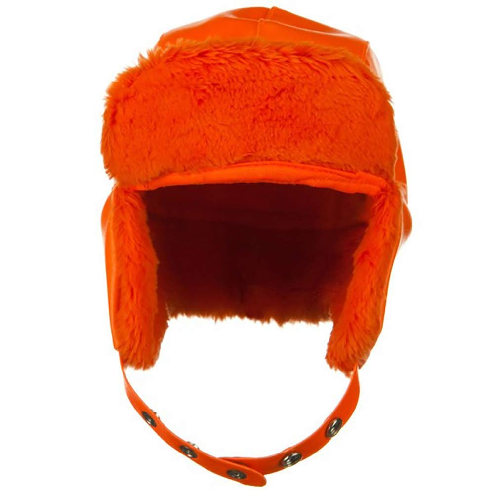 Vinyl Big Size Trooper Hat-Orange Vinyl 2XL - 3XL