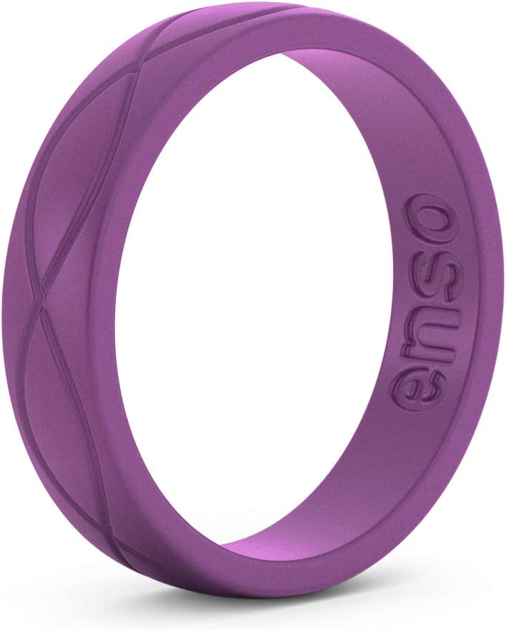 Hypoallergenic Medical Grade Silicone Enso Rings Womens Infinity Silicone Ring Lifetime Quality Guarantee Commit to What You Love The Premium Fashion Forward Silicone Ring
