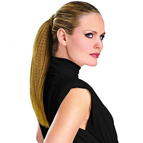 (Hairdo 18 inch Texture Wrap Around Pony Tru2Life Styleable Synthetic Ponytail R6-30H Chocolate Copper)