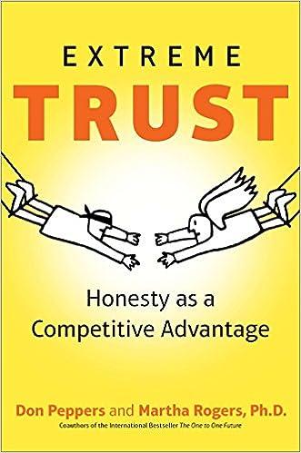 Descargar gratis Extreme Trust: Honesty As A Competitive Advantage PDF