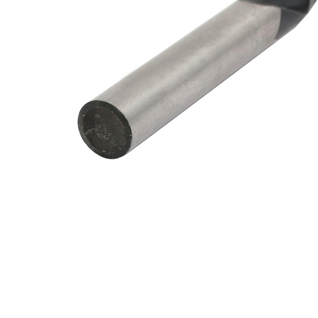 uxcell 9mm Dia 120mm Length HSS Round Shank Twist Drill Bit Drilling Tool
