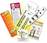 Household Energy Kit | Battery Tester Flexible Strip - Bookmark & Tattoo | Test Before You Replace!