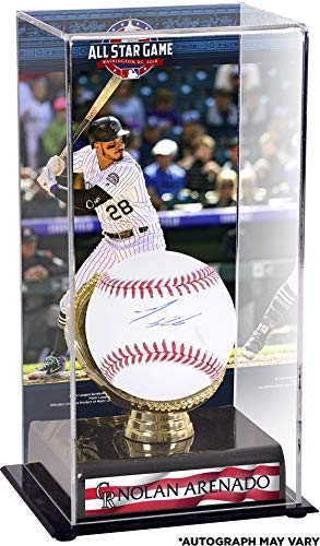 Nolan Arenado Colorado Rockies Autographed Baseball and 2018 MLB All-Star Game Gold Glove Display Case with Image - Fanatics Authentic Certified