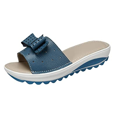 Xmiral Pantoufles Sandales Femme Respirable Plage Chaussure 6vbf7mIgyY