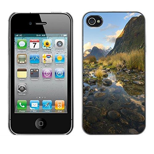 Premio Sottile Slim Cassa Custodia Case Cover Shell // F00004321 Lac // Apple iPhone 4 4S 4G