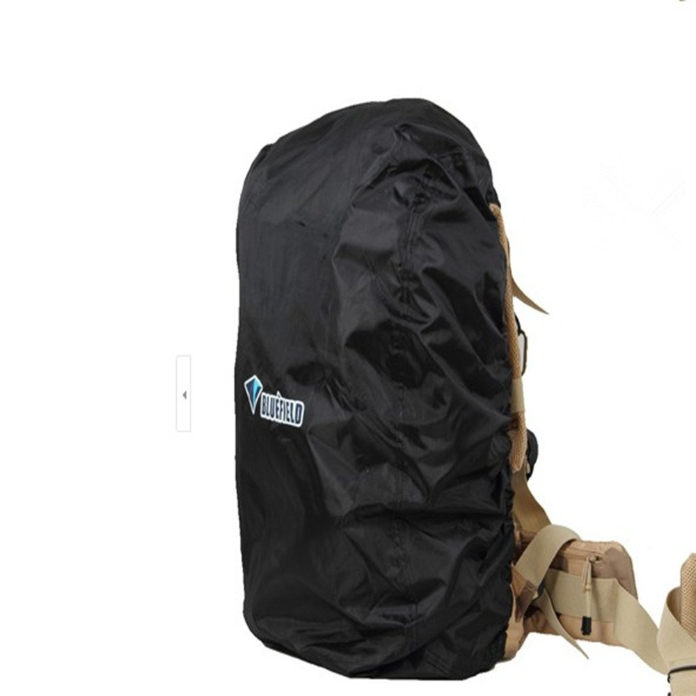KLOUD City ナイロンバックパック レインカバー ハイキング キャンプ 旅行用 (サイズ: L/M/S) B00DEXNYU8 ブラック Medium