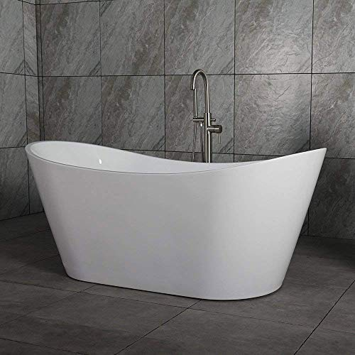 "Empava 67"" Made In USA Luxury Freestanding Bathtub Acrylic"