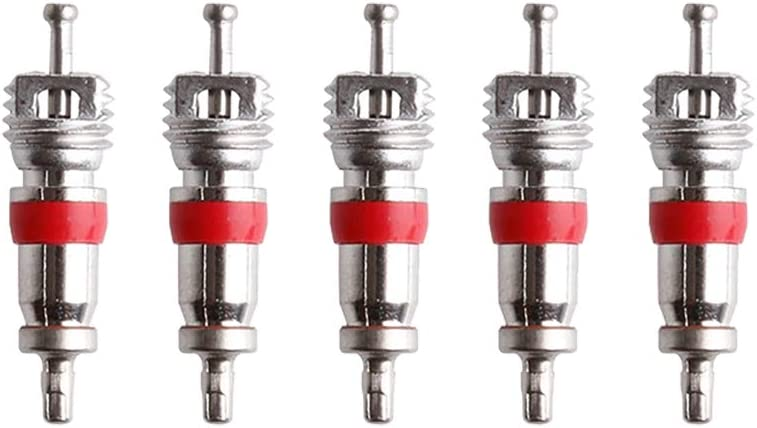 Juan Wen 5 Noyaux de valve D/émonte obus de valve Outil de reparation pour noyau de valve de pneu