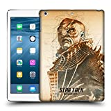 Official Star Trek Discovery Voq Grunge Characters Hard Back Case for iPad Air (2013)