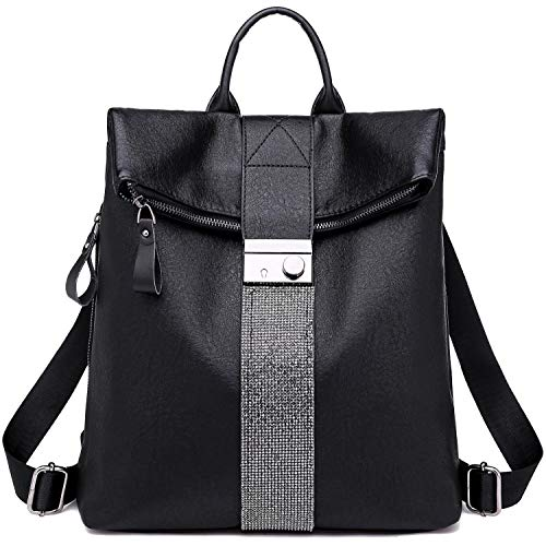 TcIFE Backpack Purse for Women Fashion School PU Leather Purse and Hangbags Shoulder Bags