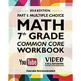 Argo Brothers Math Workbook, Grade 7: Common Core Math Multiple Choice, Daily Math Practice Grade 7