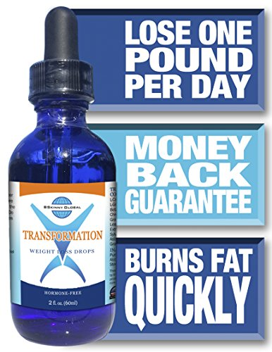 BSkinny Global Transformation Weight Loss Drops - Diet's Protocol Brochure - Packaged in an Informative Box - 2 ounces ()
