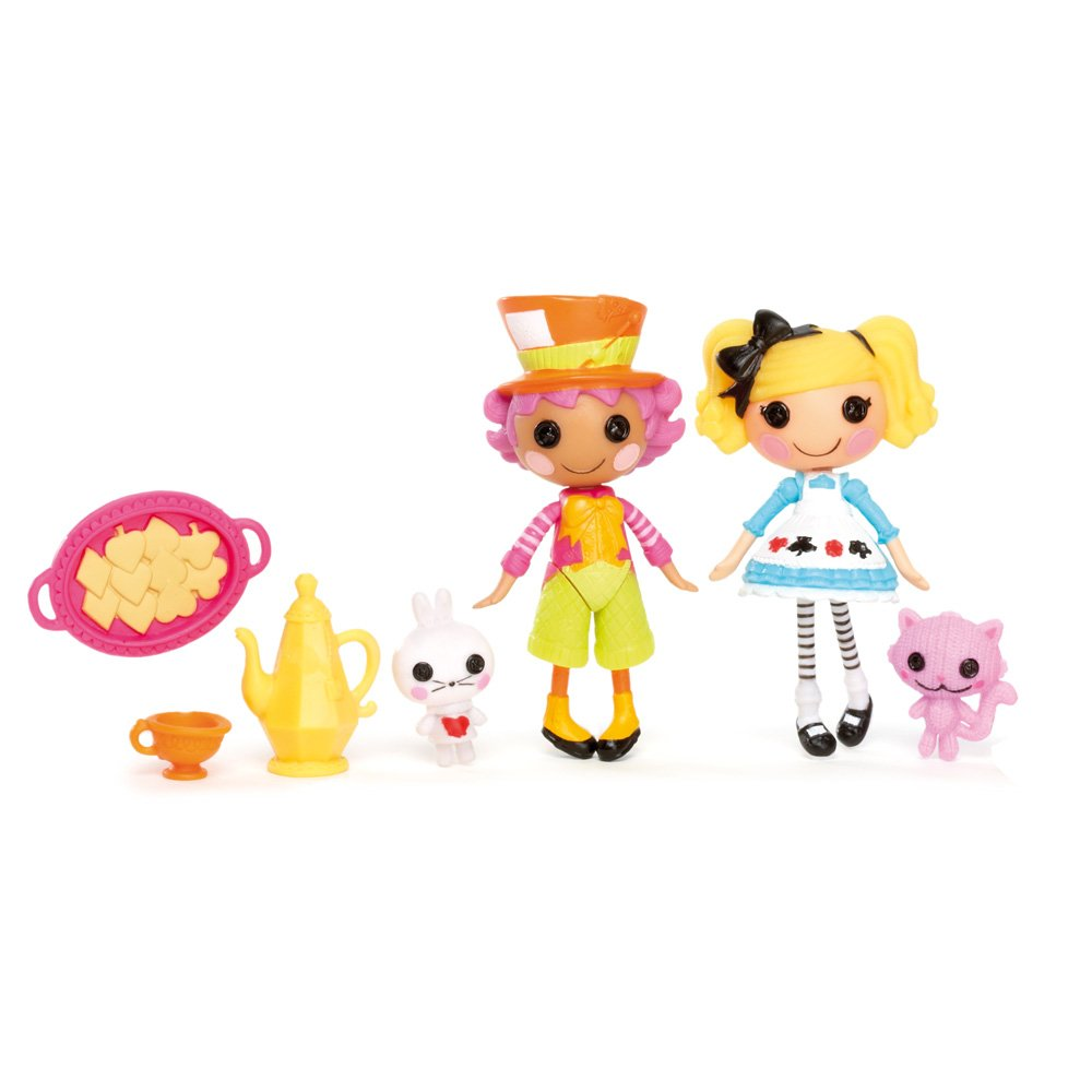 MINI LALALOOPSY Wacky MINI DOLLS 2 in PACK- Wacky Hatter Alice in Lalaloopsyland -並行輸入品 B006QDNRRI, 漁師物語:90a45502 --- arvoreazul.com.br