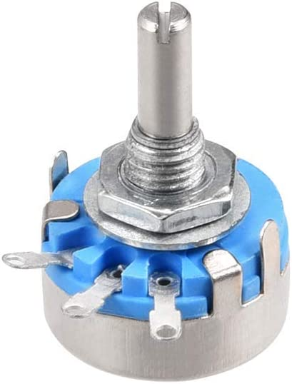 WH-5 1K Ohm Variable resistors Single-turn carbon film rotary conical potentiometer