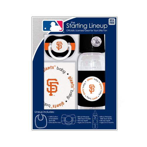 Baby Fanatic MLB San Francisco Giants Gift Set