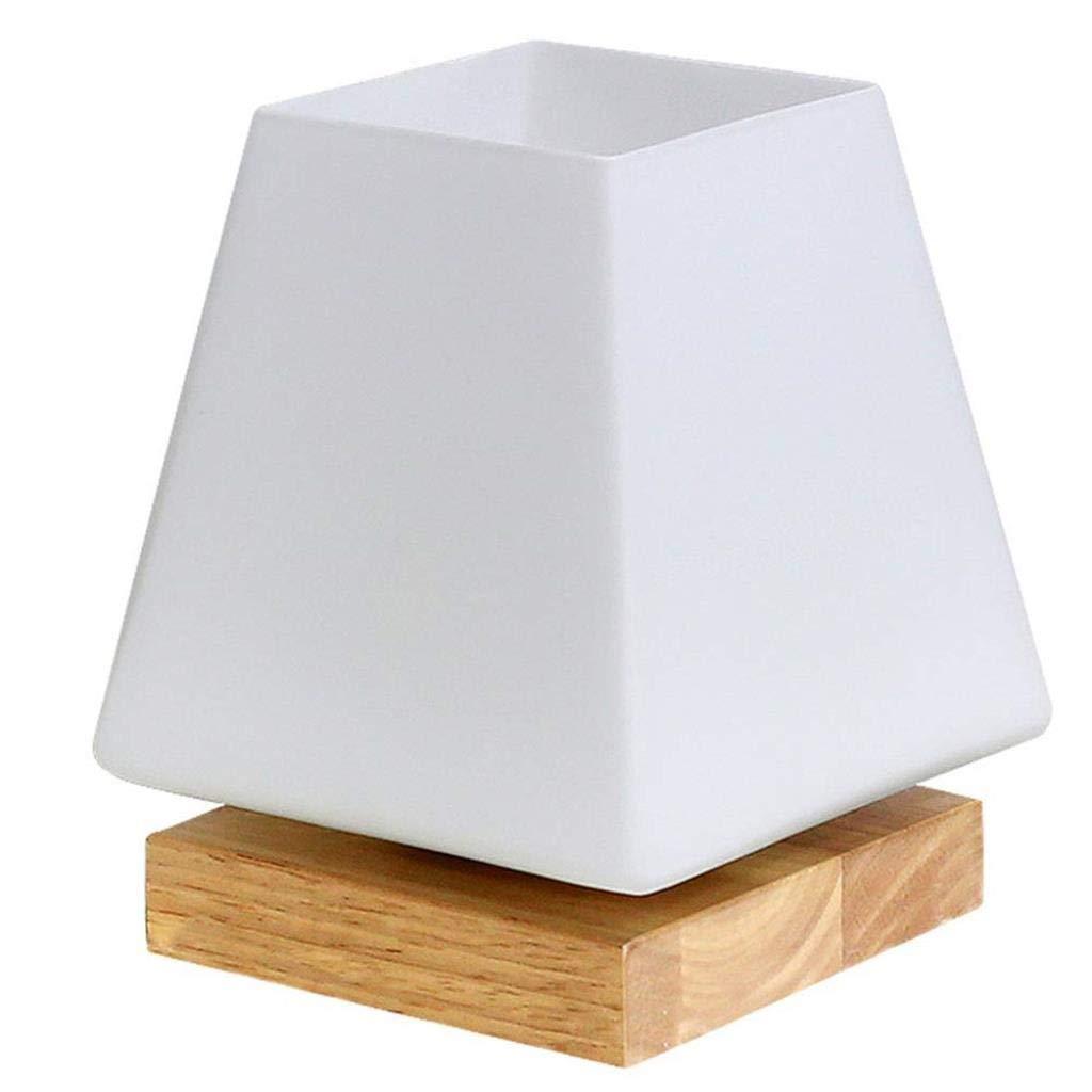 電気スタンドランプ室内照明テーブルランプ寝室の装飾クリエイティブ人格調光ナイトライトベッドサイドランプ (Color : 5w white light -17x14cm) B07TJ9V5SC 5w white light -17x14cm