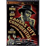 Le Quatrième Homme - Kansas City Confidential (English/French) 1952 (Full Screen) Régie au Québec (Cover Bilingue) MGM Film Noir