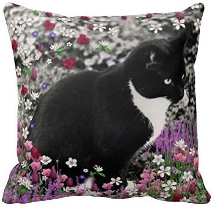 Leopard Cat Pillow Accent Pillow Bed Pillow Cat Lover Pillow