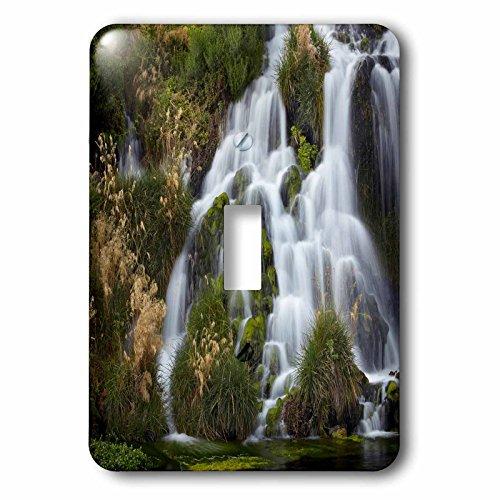 3dRose Danita Delimont - Waterfalls - Waterfalls at Niagara Springs, Idaho, USA - Light Switch Covers - single toggle switch - Outlets Niagara At Falls
