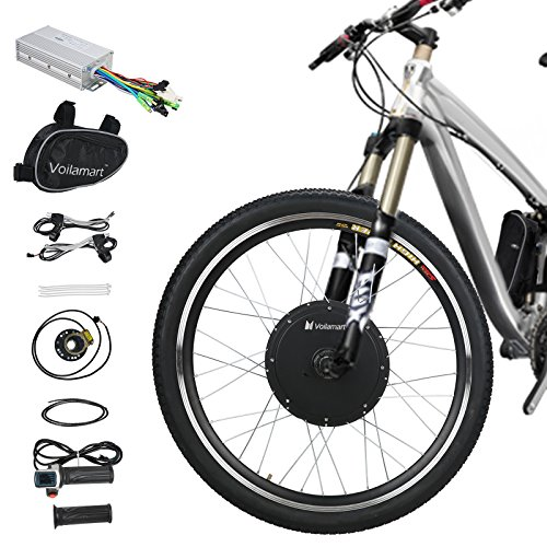 Front Wheel Electric Bike Kit