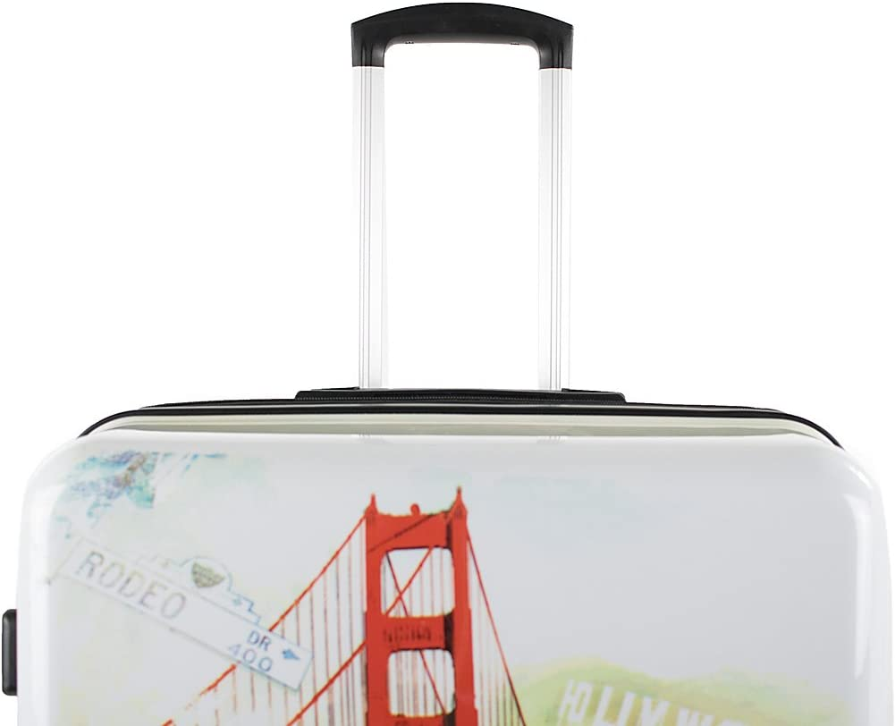 American Green Travel California 20 Inch Expandable Hardside Carry-On Spinner