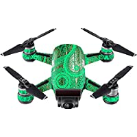 Skin For DJI Spark Mini Drone – Vintage Paisley | MightySkins Protective, Durable, and Unique Vinyl Decal wrap cover | Easy To Apply, Remove, and Change Styles | Made in the USA