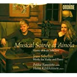 Musical Soirée at Ainola: Works for Violin and Piano