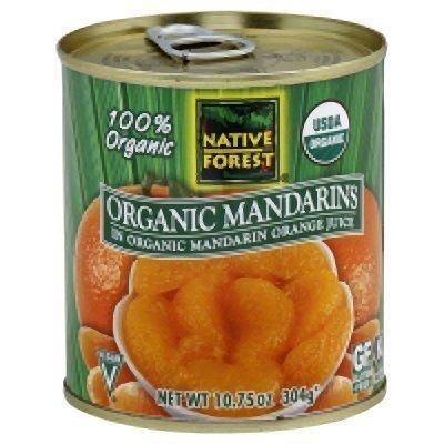 Native Forest Organic Whole Mandarin Oranges ( 6x10.75 OZ) ( Value Bulk Multi-pack)