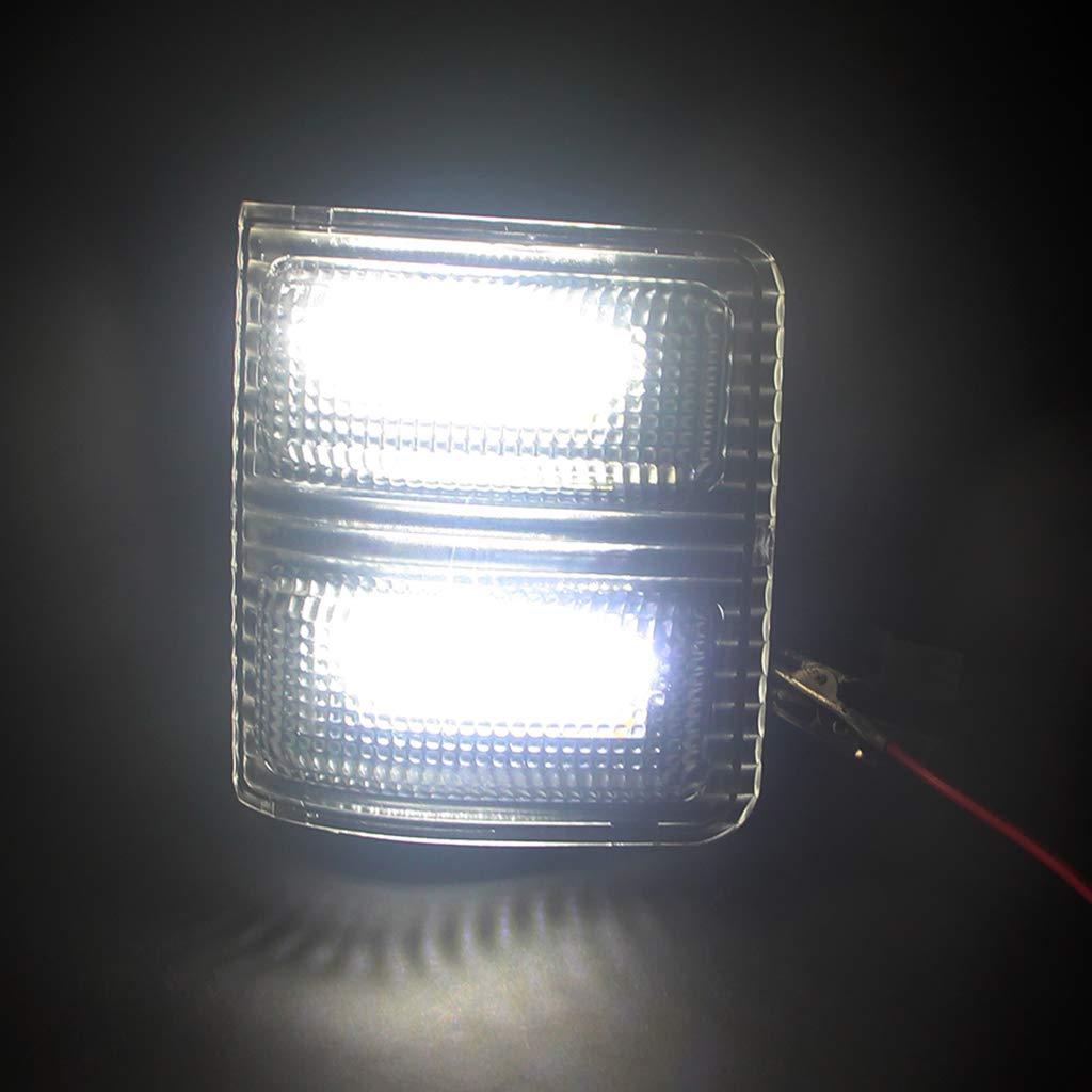 B Blesiya White Light Switchback LED Side Mirror Marker Light Turn Signal Lamp for Ford F-150 13-14,F-250,F-350,F-450,F-550 08-16