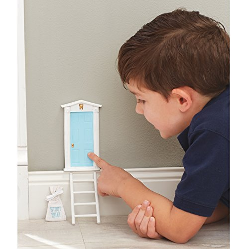 Mud Pie Tooth Fairy Door Gift Set Boy, Blue